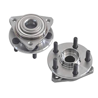 DRIVESTAR Front Wheel Hub & Bearing Assembly 513138 (Pair) Driver/Passenger 5 Bolts for Chrysler Dodge Plymouth fits only some Engine: Automotive