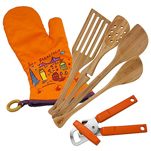 Lefty's Kitchen Tool Set Includes Left Handed Can Opener, 4