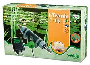 Velda 126656 - Removedor electrónica contra las algas filamentosas, y lubricado por el ion cobre, estanque de 15.000 litros, t-15 flowtronic