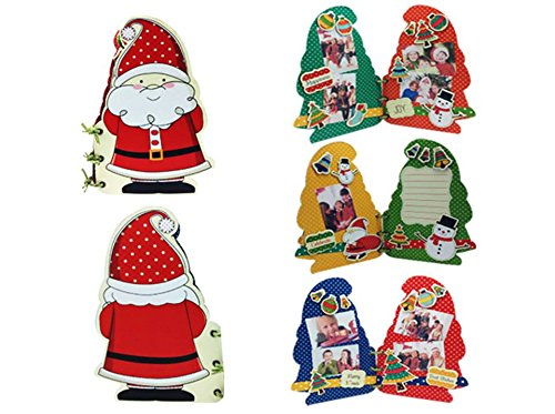 Chipboard Santa (Keng Pager Chipboard Album Kit Photo Scrapbook Collection