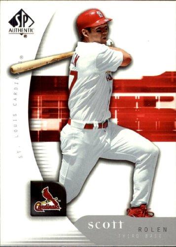 2005 Sp Authentic Baseball Card - 2005 SP Authentic Baseball Card #88 Scott Rolen