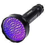 UV Blacklight Flashlight,100 LED UV Flashlights, Super Bright...