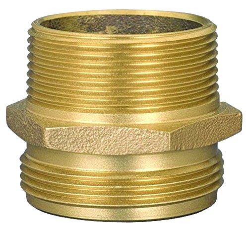 Brass 2.5 ID 2.5 ID Dixon DMH2525NYC 2-1//2 MNPT x 2-1//2 MNYC HEX Adapter