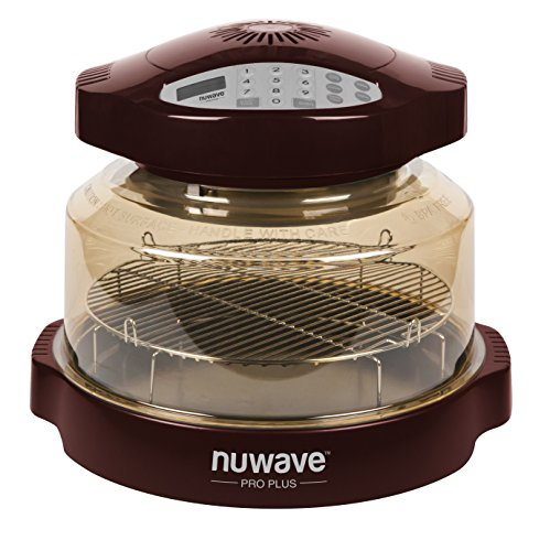 NuWave COMIN18JU009179 Pro Plus Oven, 16 x 15.5 x 12.3 inches, Black, Gold