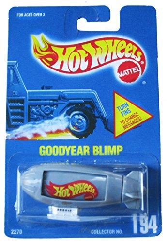 Mattel Hot Wheels Goodyear Blimp #194 - All Blue Card - G...
