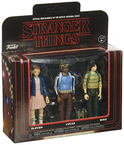 Funko Action Figure: Stranger Things 3Pk Pack 1 Collectible