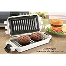 Non Stick Microwave Griller Pan by Collections Etc