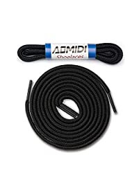 Shoelaces Round Athletic Shoes Lace (2 Pair) - for Shoe and Boot Laces Shoelaces Replacements