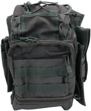 VISM by NcSTAR CVFRB2918GT PVC FIRST RESPONDERS UTILITY BAG W//CCW POCKET