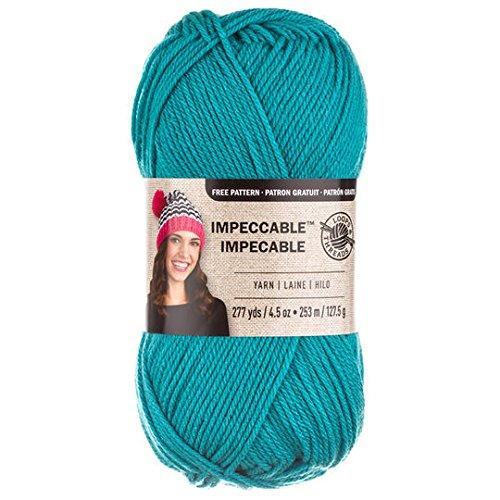 Loops & Threads Impeccable Yarn 4.5 oz. One Ball - Aqua Aqua Loops
