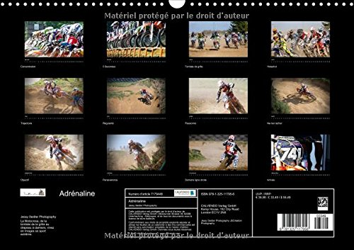 Adrenaline 2016: Decouvrez les Moments Forts D'une Course de Motocross (Calvendo Sportif) (French Edition) by Calvendo Verlag GmbH