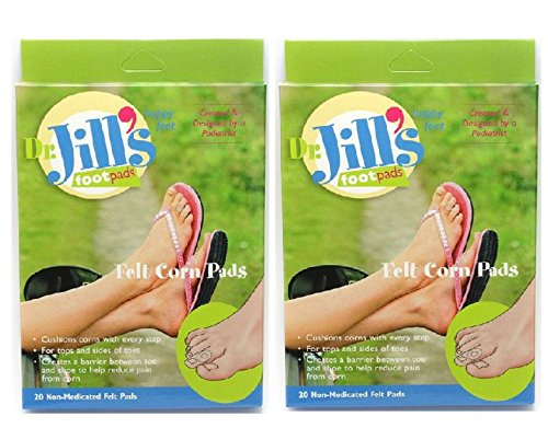 Dr. Jill's Felt Corn Pads, 40 Count