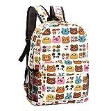 Tibes Lightweight Cute Kids Bags Unisex School Canvas Backpack