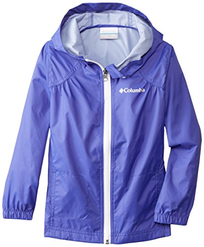 Columbia Little Girls' Switchback Rain Jacket, Light Grape, X-Small