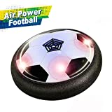 Joy-Jam Presents 6-8 Year Old Boys Air Power Soccer Hover Soccer Ball Football Disc Football Games Toys Boys Foam Bumpers JJ-UK-XFZQ Black X