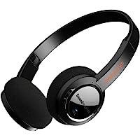 Lätta trådlösa Sound Blaster JAM V2 Bluetooth 5.0 on-Ear-hörlurar, med USB-C, aptX låglatens, aptX HD, multipoint…