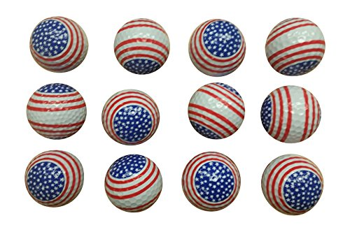 Patriotic Golf Balls 12 Pack