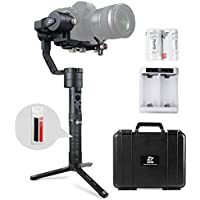 Zhiyun Crane Plus 3 Axis Handheld Gimbal Stabilizer with MotionMemory, POV, Night Time-lapse Photography and Improved Object-tracking on Zhiyun Crane V2 for Mirrorless Camera Sony A7 Series Panasonic