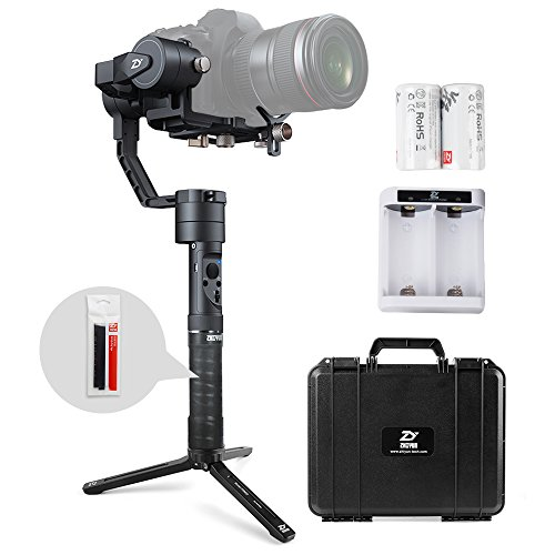 Zhiyun Crane Plus 3 Axis Handheld Gimbal Stabilizer with MotionMemory, POV, Night Time-lapse Photography and Improved Object-tracking on Zhiyun Crane V2 for Mirrorless Camera Sony A7 Series Panasonic (Pov Series Lens)