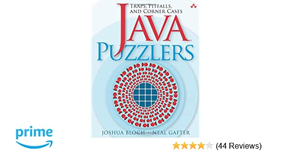 Bloch Java Puzzlers Pdf