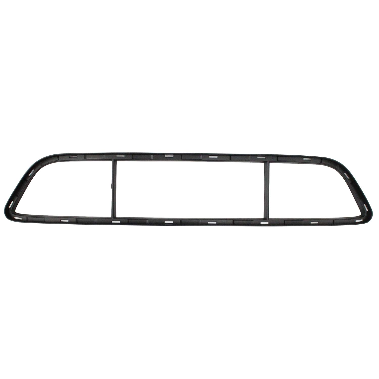 No variation Multiple Manufactures PO1037100 Standard Bumper Cover Grille Shell