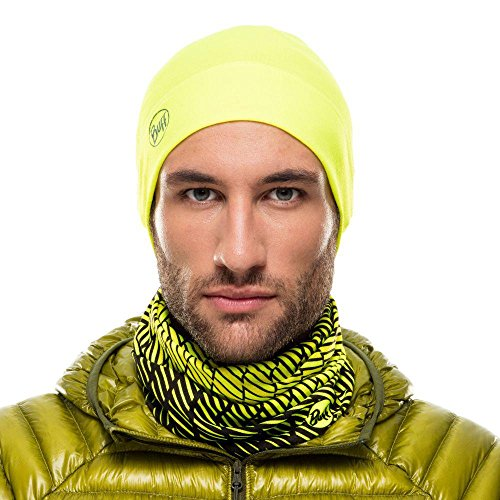 Hombre yellow solid amarillo Thermonet Gorro Buff fluor E4wqUqO