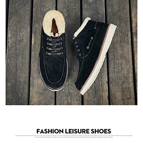 Con Forro Antideslizante Para Zapatos Botas Exterior Y Black Gruesa 6PcHBq