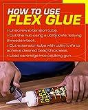 Flex Seal Glue Clear 9 oz PRO Formula - Super