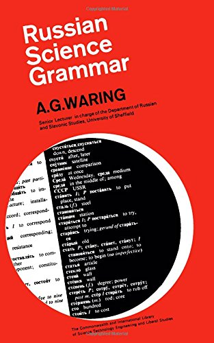 Russian Science Grammar A.G. Waring