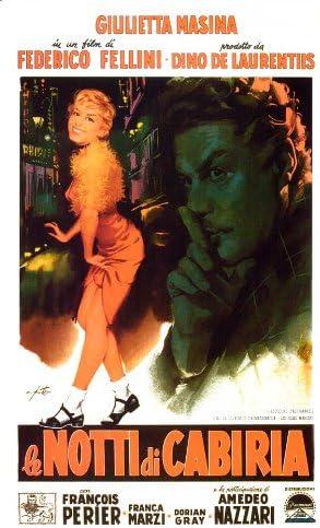 Amazon.com: Movie Posters Nights of Cabiria 27 x 40: Posters & Prints