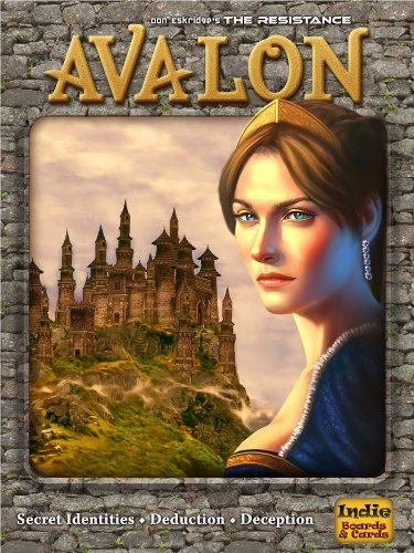 Indie Boards & Cards The Resistance: Avalon Social Deduction Game by Indie Boards & Cards