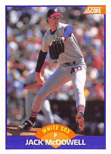 (1989 Score #289 Jack McDowell Chicago White Sox )