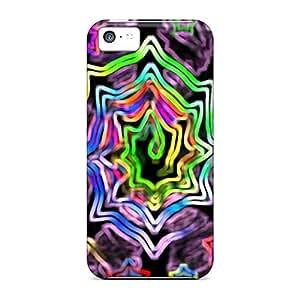 RogerKing Perfect Tpu Case For Iphone 5c/ Anti-scratch Protector Case (trip Much)