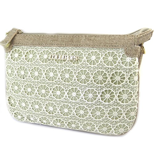 Bag Cm Touch' Compartments Lace 'french 'lollipops'de 22x15x5 Beige 3 7qRwUZ