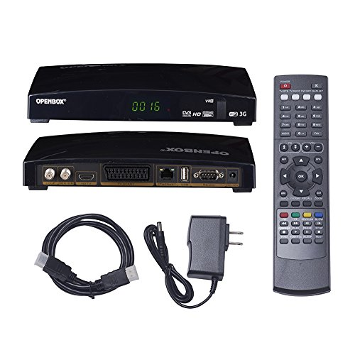 Satellite Receiver Set-Top Box, US Regulations,Skybox DVB Set-top Boxes (V8S) by ATMOMO
