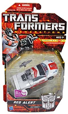 Transformers Generations: Autobot Red Alert Deluxe Class Action Figure
