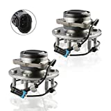 MOSTPLUS Wheel Bearing Hub Front or Rear Wheel Hub and Bearing Assembly for Chevy Cadillac GMC RWD With ABS 6 Lug 515054X2 (Set of 2)