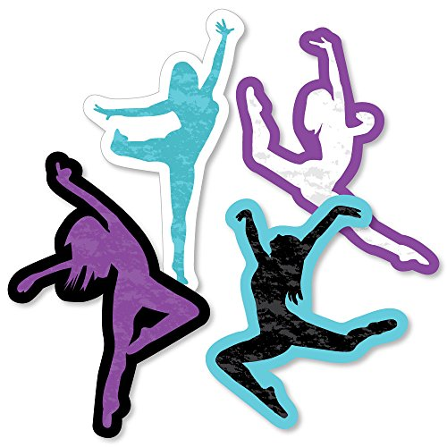 - Must Dance to The Beat - Dance - Dancer Decorations DIY Birthday Party or Dance Party Essentials - Set of 20