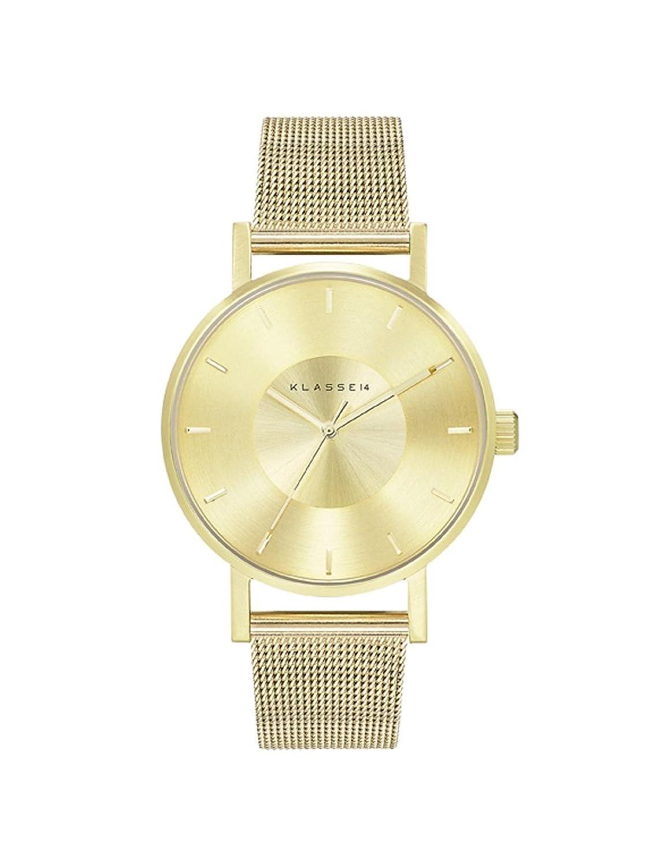 [クラス14]KLASSE14 腕時計 ウォッチ VOLARE 36mm メッシュベルト シンプル ファッション ゴールド レディース [並行輸入品] B01E6U5OGY