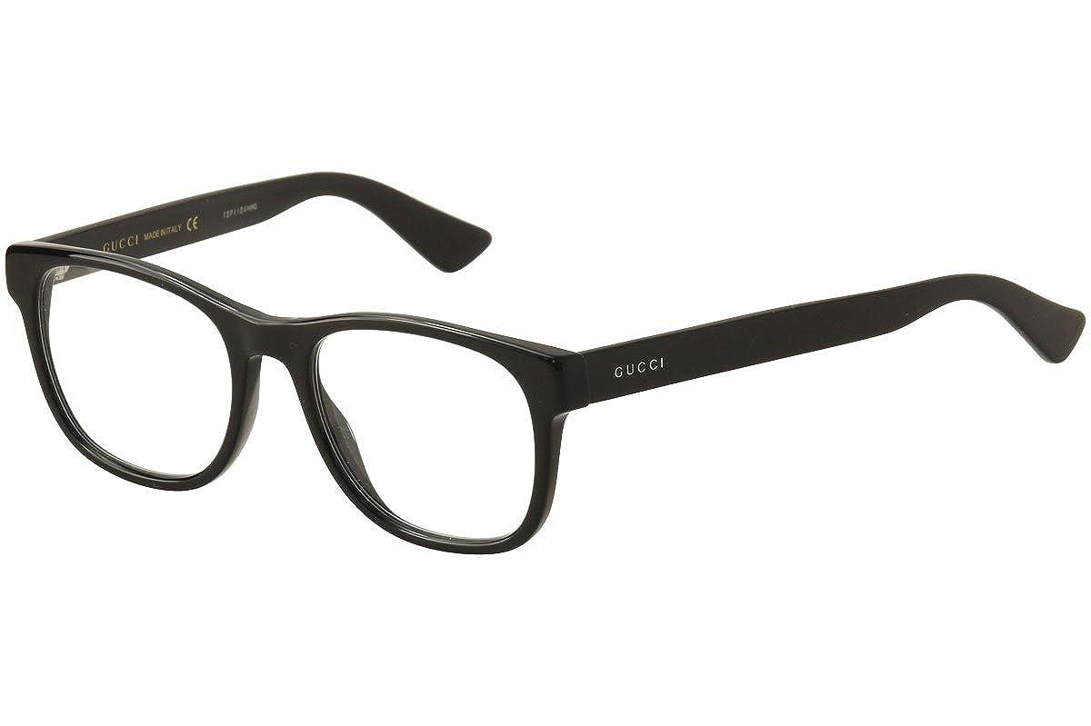 9f5811d882 Amazon.com  Gucci - GG0004O-001 Optical Frame ACETATE  Clothing