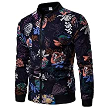 Spbamboo Mens Sweatshirt no Hood Zipper Pullover Long Sleeve Tops Outerweat 2018