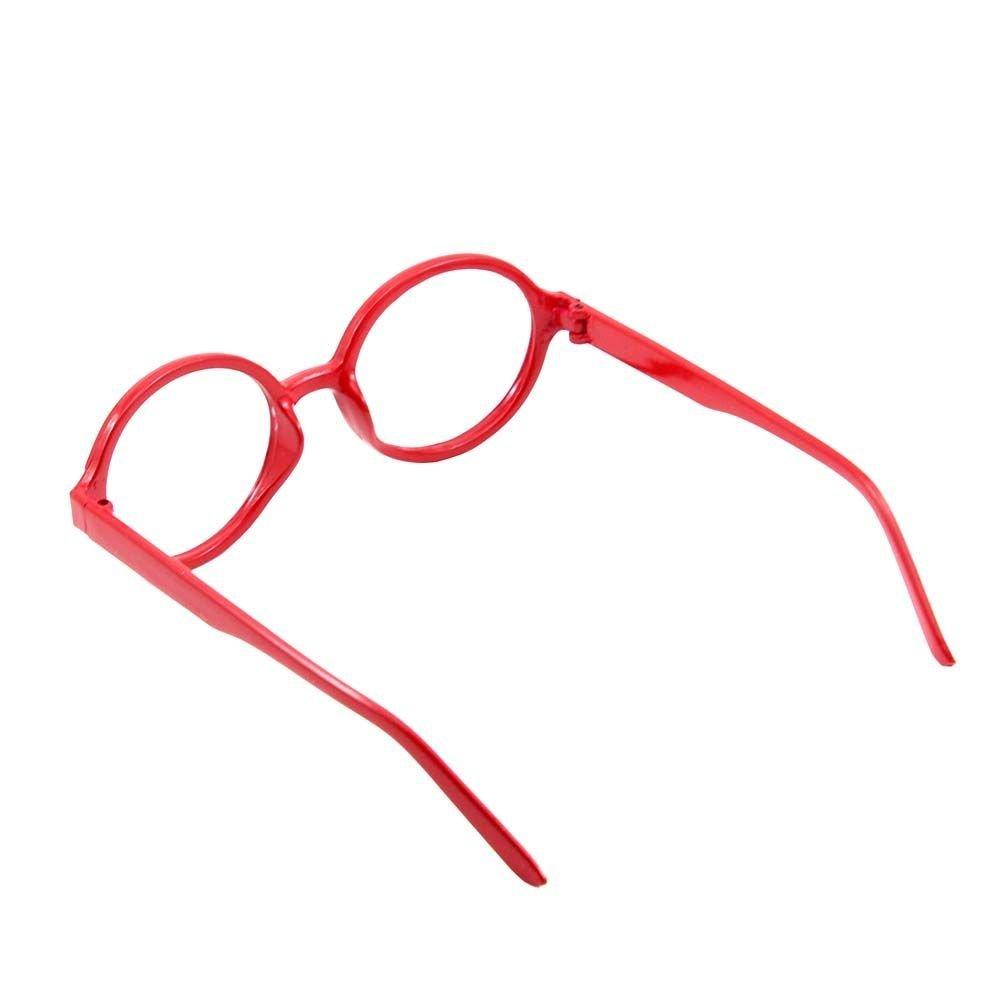 DDU Unisex Vintage Mode Kunststoff Rund Brille Rahmen KEINE Linsen ...