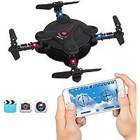 Best Choice Products Smart Phone Control Folding Pocket Mini Drone Gravity Sensor Wifi FPV Camera Quadcopter