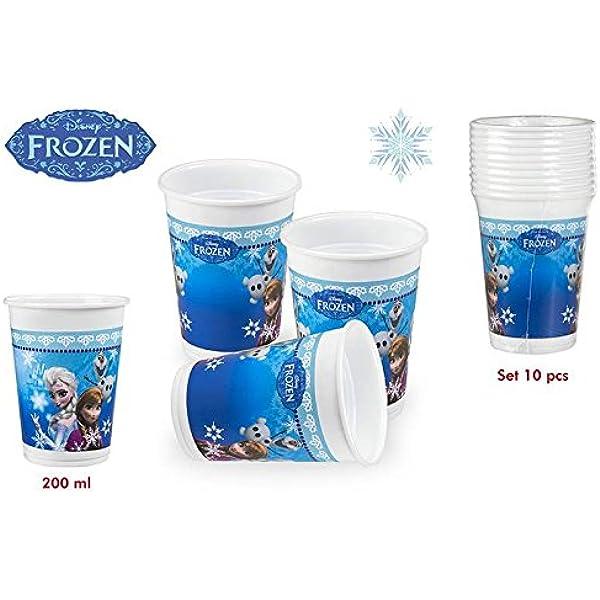 DISOK - Pack 10 Vasos Frozen 200 Ml - Vasos Cumpleaños ...