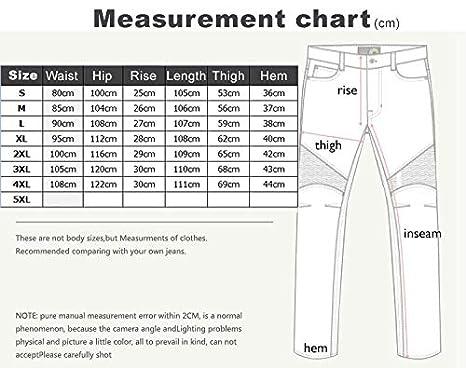 Waist 36.5 Protection Moto Pantalon Jeans Moto Pantalon d/Équitation avec Prot/éger Pads Bleu XL-