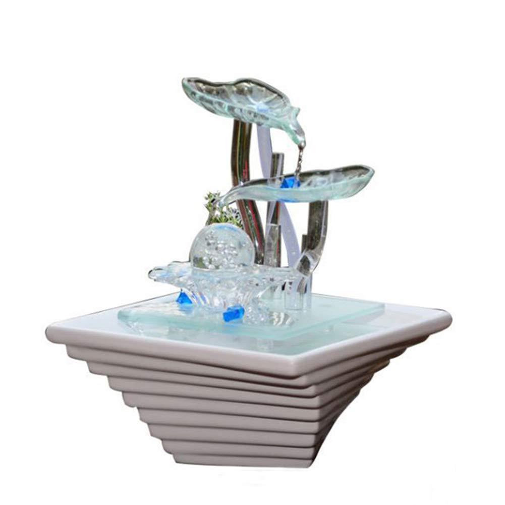 新品即決 加湿器ホームデスクトップの装飾セラミックガラス工芸品の装飾品噴水装飾品バレンタインデー結婚式の誕生日パーフェクトギフト B07NQGXX59 B07NQGXX59, bussel store:7849564f --- martinemoeykens.com