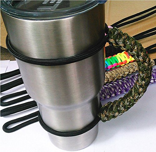 Handmade Paracord Handle for 30 oz. Tumbler