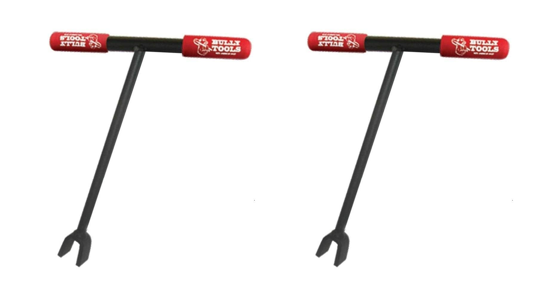Bully Tools 12 in. Water Key with Steel T-Style Handle and Steel 3/8 in. Key Opening (Pack of 2)