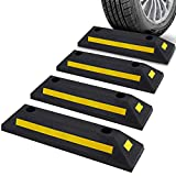 Pyle Curb Garage Vehicle Floor Safety 1PC Heavy