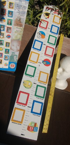 Watch Me Grow! Growth Chart With Picture ()
